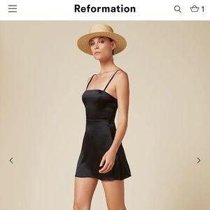 Reformation Amelie Dress Black